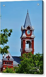 New Hanover County Courthouse Bell Tower Acrylic Print