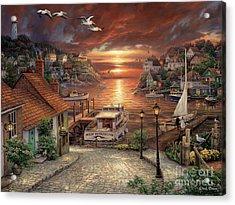 New Horizons Acrylic Print by Chuck Pinson