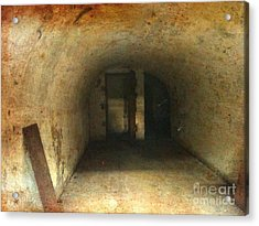 Acrylic Print featuring the photograph New Jersey Military Cave by Denise Tomasura