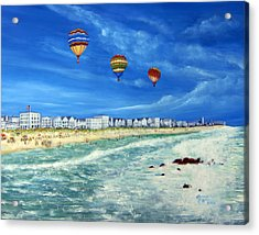 New Jersey Shore Acrylic Print