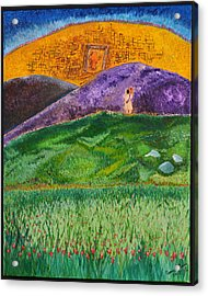 Acrylic Print featuring the painting New Jerusalem by Cassie Sears
