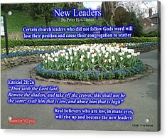 New Leaders Acrylic Print