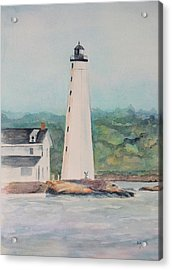 New London Harbor Lighthouse New London Ct Acrylic Print
