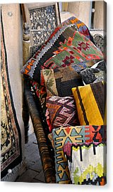 Acrylic Print featuring the photograph New Mexican Flair by Gina Savage