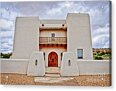 Acrylic Print featuring the photograph New Mexican Hideaway by Gina Savage