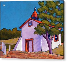 New Mexico Church Acrylic Print by Candy Mayer