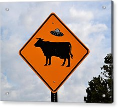New Mexico Crossing Acrylic Print