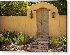 Acrylic Print featuring the photograph New Mexico Facade # 1 by Don McGillis