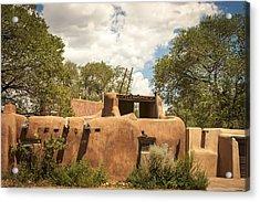 Acrylic Print featuring the photograph New Mexico Facade # 3 by Don McGillis