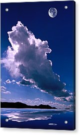 New Mexico Sky Acrylic Print by Jerry McElroy