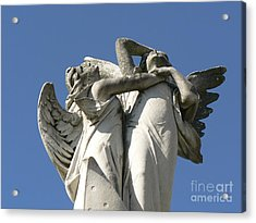 Acrylic Print featuring the photograph New Olreans Angel 6 by Elizabeth Fontaine-Barr