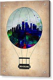 New Orleans Air Balloon Acrylic Print