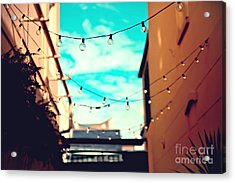 Acrylic Print featuring the photograph New Orleans Alley by Sylvia Cook