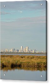 New Orleans And Surrounding Wetlands Acrylic Print by Jim West