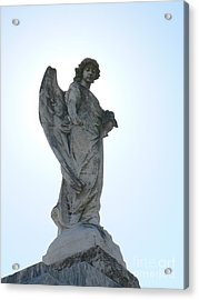 Acrylic Print featuring the photograph New Orleans Angel 2 by Elizabeth Fontaine-Barr