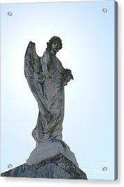 New Orleans Angel 2 Acrylic Print by Elizabeth Fontaine-Barr