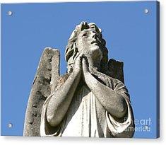 New Orleans Angel 4 Acrylic Print by Elizabeth Fontaine-Barr