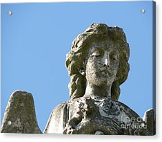 Acrylic Print featuring the photograph New Orleans Angel 7 by Elizabeth Fontaine-Barr