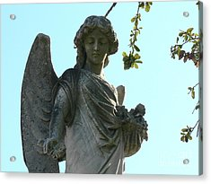 Acrylic Print featuring the photograph New Orleans Angel 8 by Elizabeth Fontaine-Barr