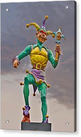 New Orleans - Canal Street Ferry Jester Acrylic Print