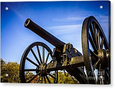 New Orleans Cannon At Washington Artillery Park Acrylic Print