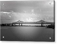 New Orleans Ccc Bridge Acrylic Print by Christine Till