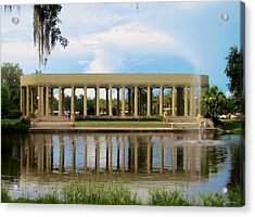 New Orleans City Park - Peristyle Acrylic Print by Deborah Lacoste