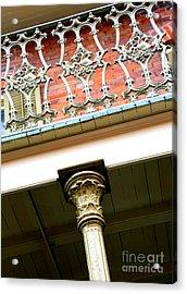 New Orleans Column Acrylic Print by Carol Groenen