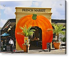 New Orleans French Market Acrylic Print by Christine Till
