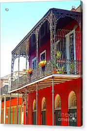 New Orleans French Quarter Architecture 2 Acrylic Print
