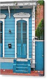 New Orleans Front Door Acrylic Print