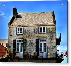 New Orleans Home Acrylic Print