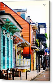 New Orleans Living Acrylic Print
