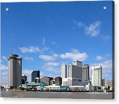 New Orleans Louisiana Acrylic Print by Olivier Le Queinec