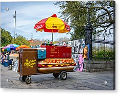 New Orleans - Lucky Dogs  Acrylic Print by Steve Harrington