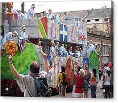 New Orleans - Mardi Gras Parades - 1212101 Acrylic Print