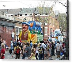 New Orleans - Mardi Gras Parades - 1212125 Acrylic Print