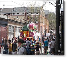 New Orleans - Mardi Gras Parades - 1212131 Acrylic Print by DC Photographer