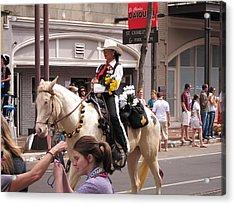 New Orleans - Mardi Gras Parades - 1212141 Acrylic Print