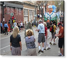 New Orleans - Mardi Gras Parades - 1212146 Acrylic Print by DC Photographer