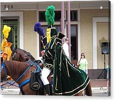 New Orleans - Mardi Gras Parades - 121258 Acrylic Print by DC Photographer