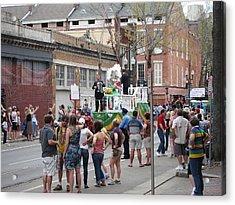 New Orleans - Mardi Gras Parades - 121295 Acrylic Print