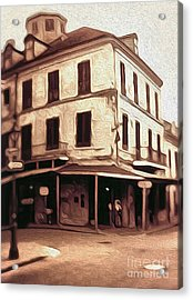 New Orleans - Old Absinthe Bar Acrylic Print by Gregory Dyer