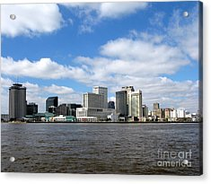 New Orleans Acrylic Print by Olivier Le Queinec