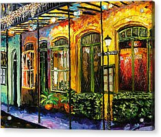 New Orleans Original Painting Acrylic Print
