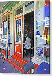 New Orleans Piano Acrylic Print