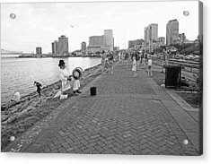 New Orleans Riverwalk Acrylic Print