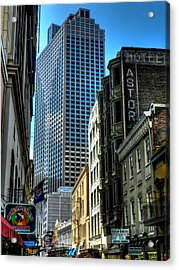 New Orleans - Royal Street 003 Acrylic Print by Lance Vaughn