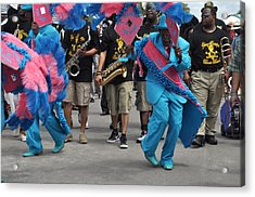 New Orleans Second Line Acrylic Print