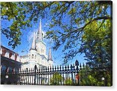 New Orleans Series 52 Acrylic Print